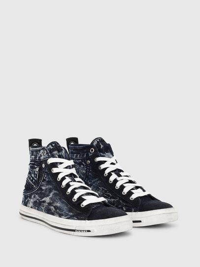 Diesel - EXPOSURE I, Azul Oscuro - Sneakers - Image 2