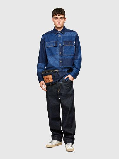 Diesel - D-HORUS, Azul - Camisas de Denim - Image 5