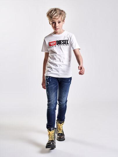 Diesel - TJUSTDIVISION, Blanco - Camisetas y Tops - Image 3