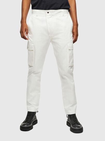 Diesel - P-JARED-CARGO, Blanco - Pantalones - Image 1