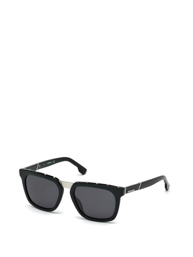 Diesel - DL0212, Negro - Gafas de sol - Image 4