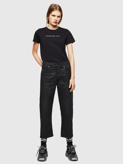 Diesel - T-SILY-COPY, Negro - Camisetas - Image 4
