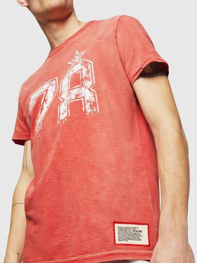 Diesel - T-DIEGO-CUT-AB, Rojo Fuego - Camisetas - Image 3