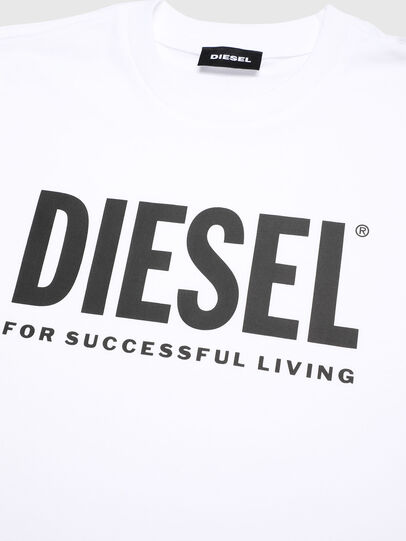 Diesel - TJUSTLOGO, Blanco - Camisetas y Tops - Image 3
