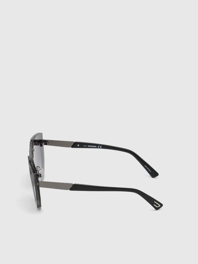Diesel - DL0258, Gris - Gafas de sol - Image 2