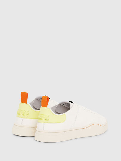 Diesel - S-CLEVER LS W, Blanco/Amarillo - Sneakers - Image 3