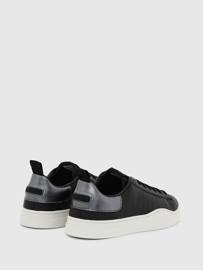 Diesel - S-CLEVER LOW LACE, Negro/Plata - Sneakers - Image 3