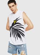 T-YOSHIMI-SL, Blanco/Negro - Camisetas