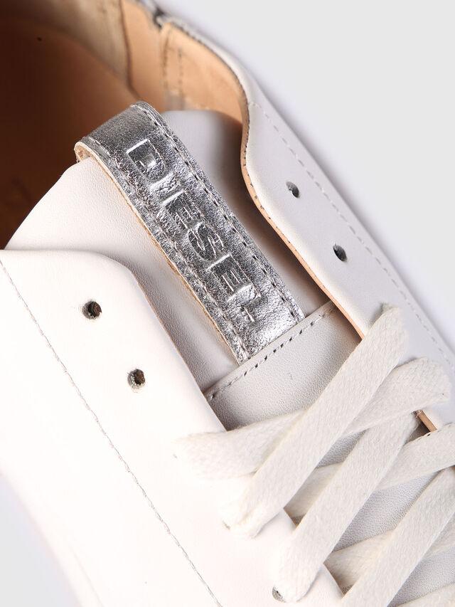 Diesel - S-NENTISH LC W, Blanco - Sneakers - Image 4