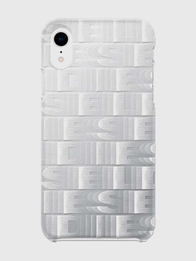 Diesel - DIESEL PRINTED CO-MOLD CASE FOR IPHONE XR, Blanco - Fundas - Image 2