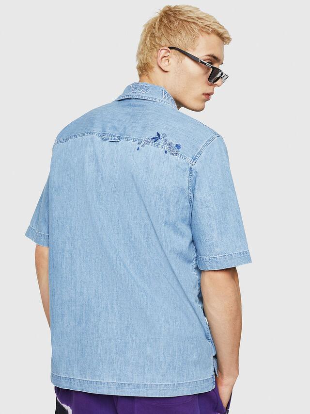 Diesel - D-RASHI, Blue Jeans - Camisas de Denim - Image 2
