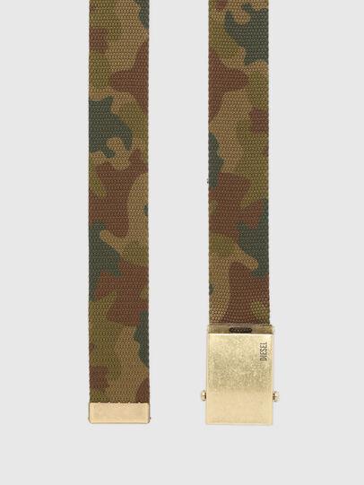 Diesel - B-COMBA, Verde Camuflaje - Cinturones - Image 3