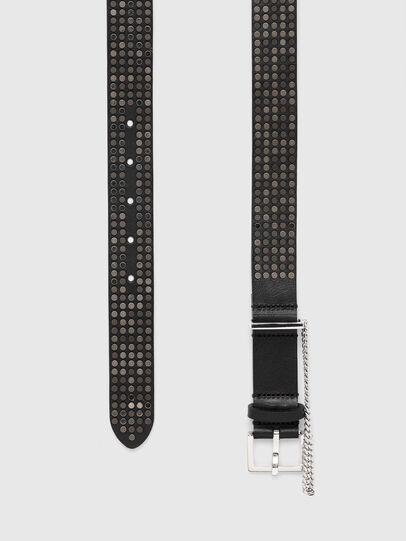 Diesel - B-STAD, Negro - Cinturones - Image 3