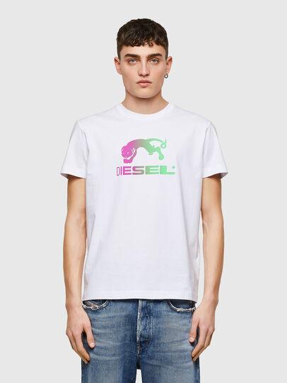 Diesel - T-DIEGOS-E30, Blanco - Camisetas - Image 1