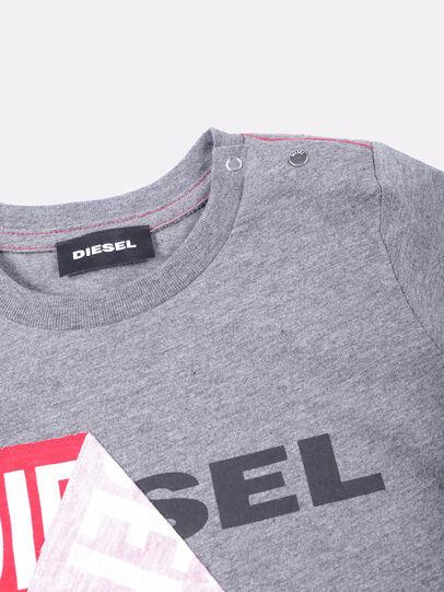 Diesel - TOQUEB, Gris - Camisetas y Tops - Image 3