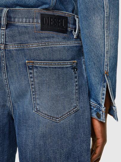 Diesel - D-STRUKT-SHORT, Azul medio - Shorts - Image 3