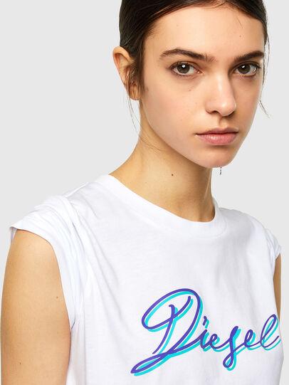 Diesel - T-SILY-K10, Blanco - Camisetas - Image 3
