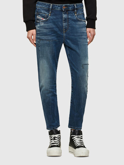 Diesel - Fayza JoggJeans® 069SZ, Azul Oscuro - Vaqueros - Image 1