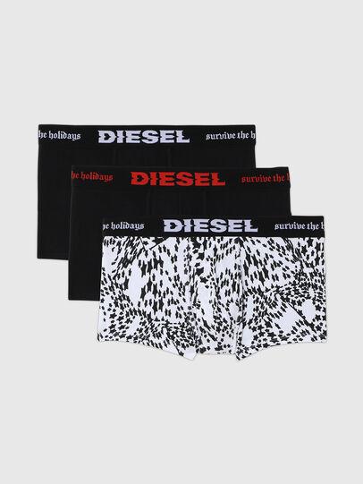 Diesel - UMBX-DAMIENTHREEPACK, Negro/Blanco - Boxers - Image 1