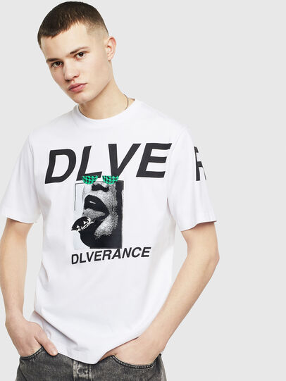 Diesel - T-JUST-T21, Blanco - Camisetas - Image 1