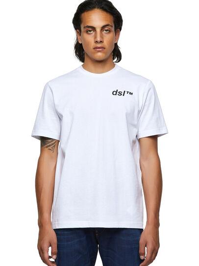 Diesel - T-JUST-B56, Blanco - Camisetas - Image 1