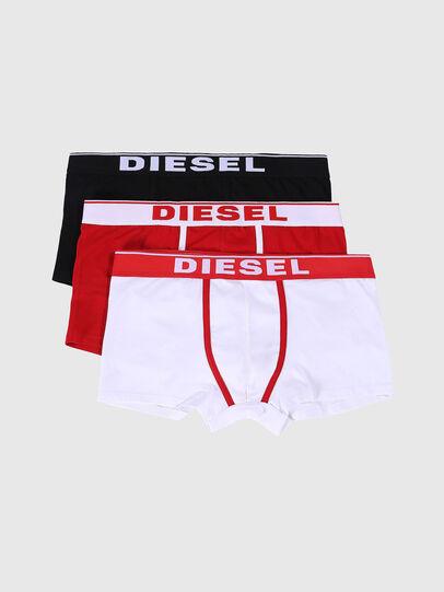 Diesel - UMBX-DAMIENTHREEPACK, Blanco/Rojo - Boxers - Image 1