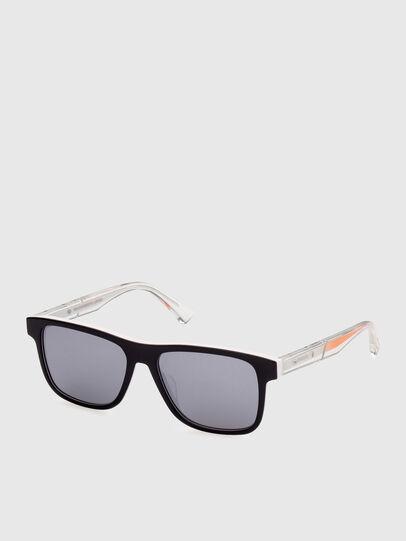 Diesel - DL0279, Blanco/Naranja - Gafas de sol - Image 2