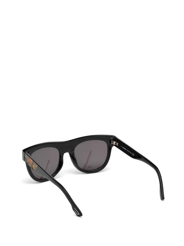 Diesel - DM0160, Negro/Naranja - Gafas de sol - Image 2