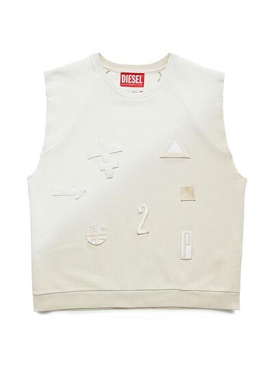 Diesel - GR02-T303, Blanco - Camisetas - Image 1