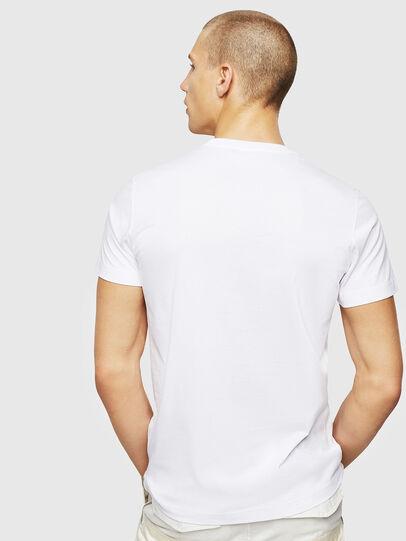 Diesel - T-DIEGO-A1, Blanco - Camisetas - Image 2
