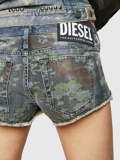 Diesel - DE-MARLEN, Azul medio - Shorts - Image 4