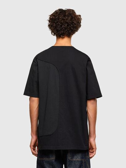 Diesel - T-BLAST, Negro - Camisetas - Image 2
