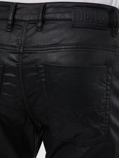 Diesel - Krooley JoggJeans 0849R, Negro/Gris oscuro - Vaqueros - Image 4