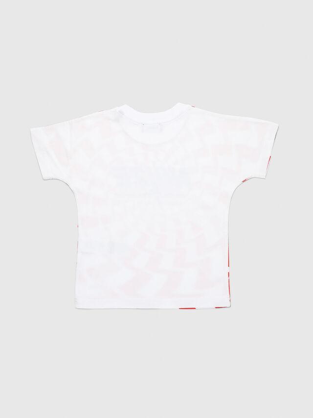 Diesel - TRUCCIB-R, Blanco/Rojo - Camisetas y Tops - Image 2
