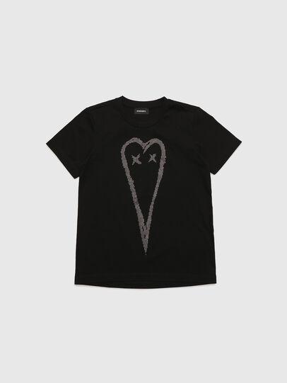 Diesel - TSILYHEART, Negro - Camisetas y Tops - Image 1