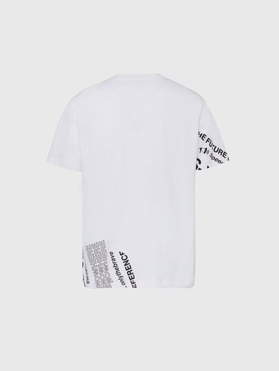 Diesel - T-JUST-FOLDED, Blanco - Camisetas - Image 2