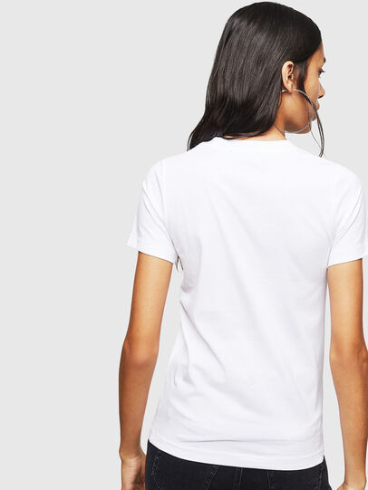 Diesel - T-SILY-ZF, Blanco - Camisetas - Image 2