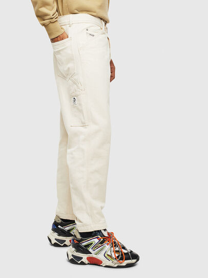 Diesel - P-LAMAR, Blanco - Pantalones - Image 4