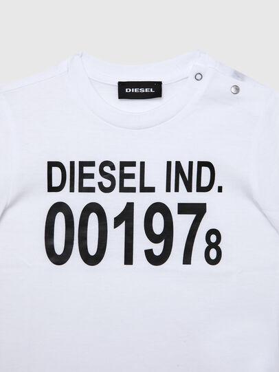 Diesel - TDIEGO001978B, Blanco/Negro - Camisetas y Tops - Image 3