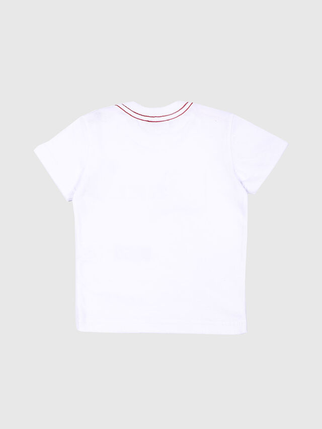 Diesel - TOQUEB MC, Blanco - Camisetas y Tops - Image 2