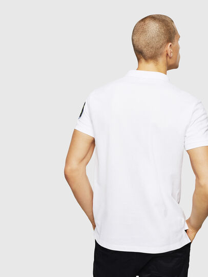 Diesel - T-POLO-PATCHES, Blanco - Polos - Image 3
