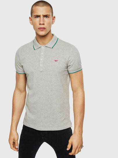 Diesel - T-RANDY-NEW, Gris Claro - Polos - Image 1