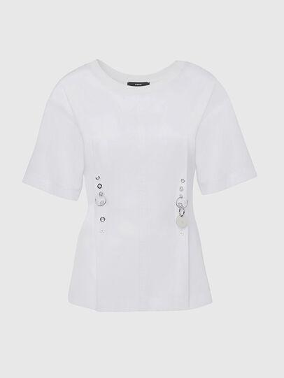 Diesel - T-SHEELA, Blanco - Camisetas - Image 1