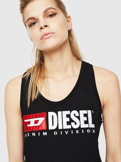 Diesel - T-SILK, Negro - Tops - Image 3