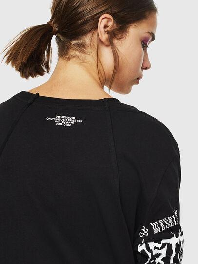 Diesel - T-PAISS, Negro - Camisetas - Image 5