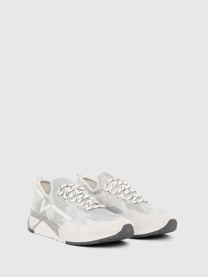 Diesel - S-KBY, Gris/Blanco - Sneakers - Image 2