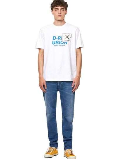 Diesel - T-JUST-B62, Blanco - Camisetas - Image 5