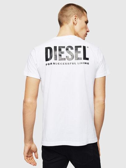 Diesel - LR-T-DIEGO-VIC, Blanco - Camisetas - Image 2