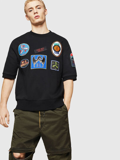 Diesel - S-MAGGY-SH-PATCH,  - Sudaderas - Image 4