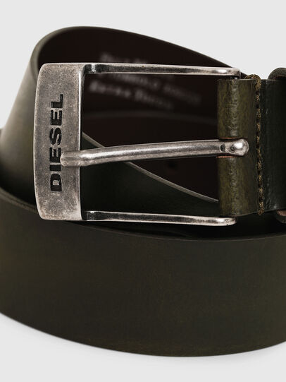 Diesel - B-TOMBOLO, Verde Oscuro - Cinturones - Image 2